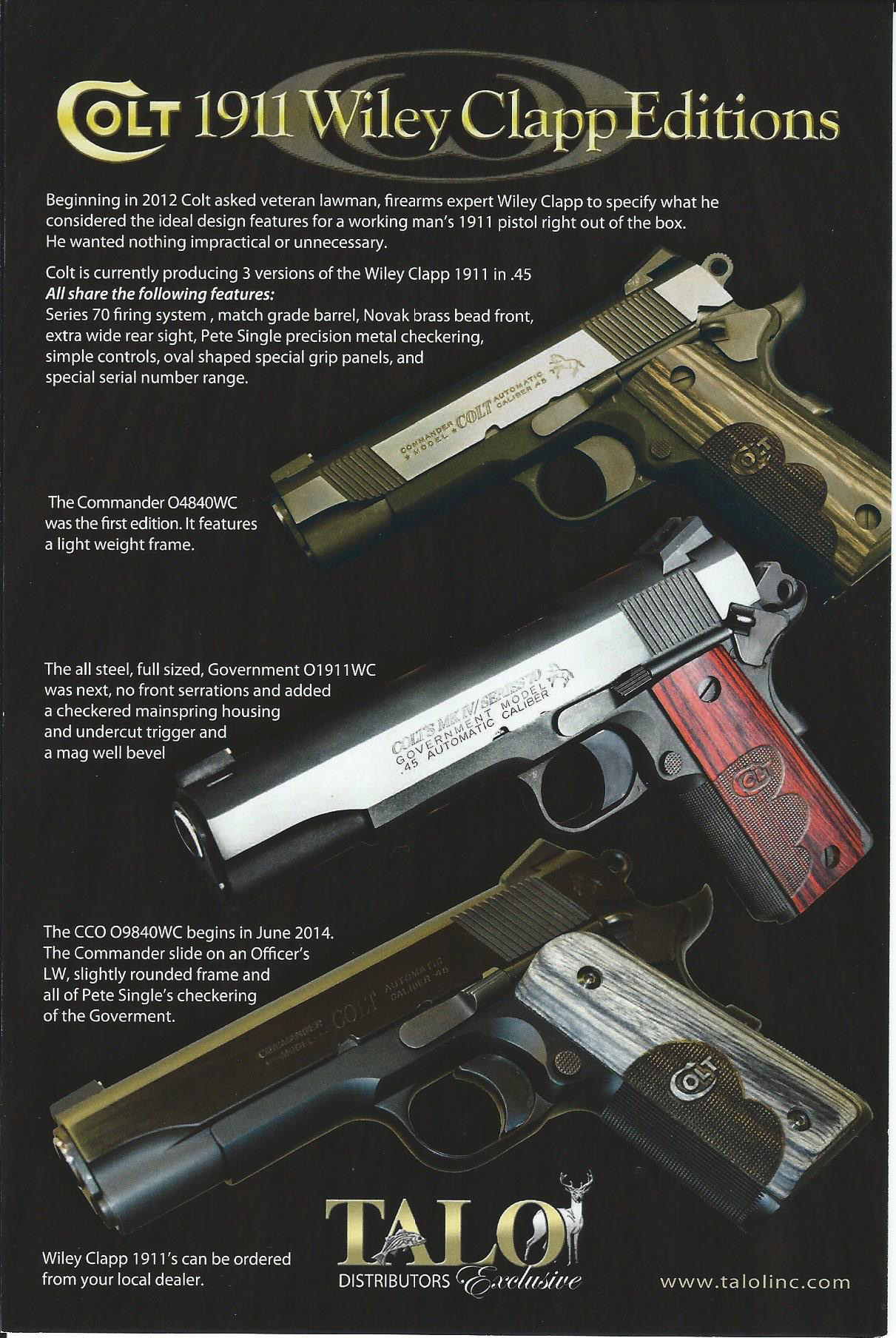 Central Florida Pawn Talo Inc Designed Firearms